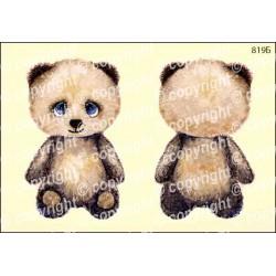 Велюрик медвежонок