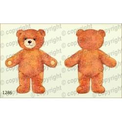 Велюрик медведь