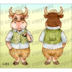 Велюрик бык