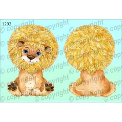 Велюрик лев