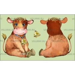 Велюрик коровка