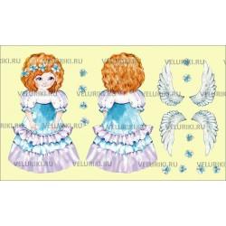 Велюрик ангелок