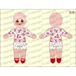 Велюрик кукла 839