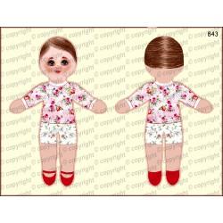 Велюрик кукла