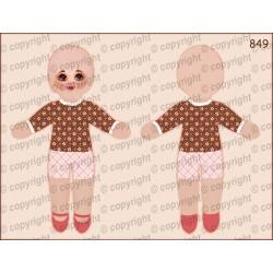 Велюрик кукла 849