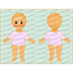 Велюрик кукла 861
