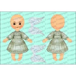 Велюрик кукла 869