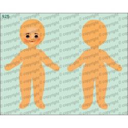 Велюрик кукла 925