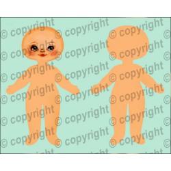 Велюрик кукла 935