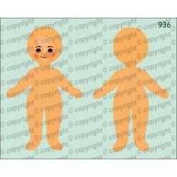 Велюрик кукла 936