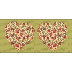 Велюрик сердце 460
