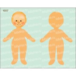 Велюрик кукла 1007