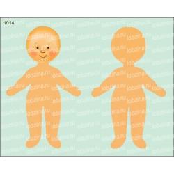 Велюрик кукла 1014