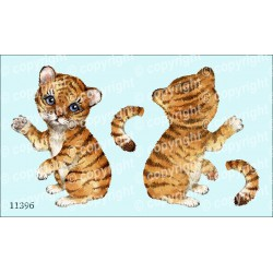 Велюрик тигрёнок